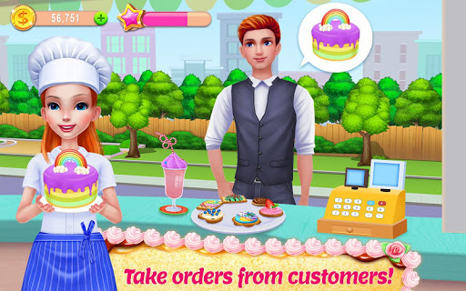 My Bakery Empire - Bake, Decorate & Serve Cakes APK screenshot 1