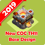 New Best COC Town Hall 11 Base Map FOR PC