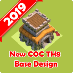 New Best COC Town Hall 8 Base Map FOR PC