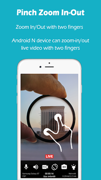 Make your old phone as Home Security Camera APK screenshot 1