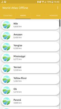 Offline world map 2018 - world atlas APK screenshot 1