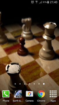 Chess Gyro 3D Parallax Live Wallpaper APK screenshot 1