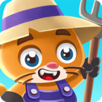 Super Idle Cats - Incremental Farm Game icon