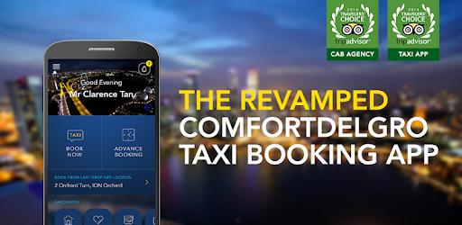 ComfortDelGro Taxi Booking App pc screenshot
