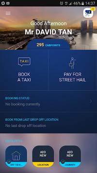 ComfortDelGro Taxi Booking App APK screenshot 1