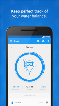 Hydro Coach - Water Drink Reminder & Water Tracker APK screenshot 1