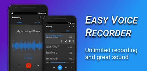Easy Voice Recorder pc screenshot