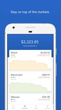 Coinbase – Buy and sell bitcoin. Crypto Wallet APK screenshot 1