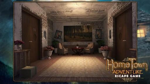 Escape game:home town adventure APK screenshot 1