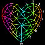 Dot To Dot To Poly Art icon