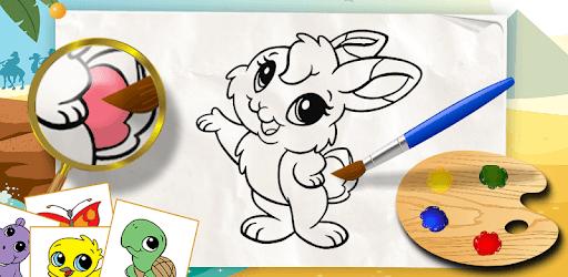 Coloring games for kids animal pc screenshot