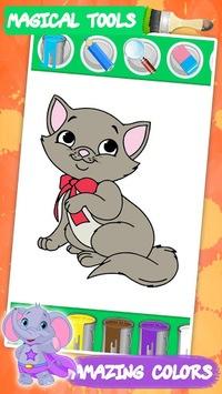 Coloring games for kids animal APK screenshot 1