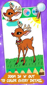 Coloring games for kids animal APK screenshot 1