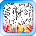 Elsa Coloring Games icon