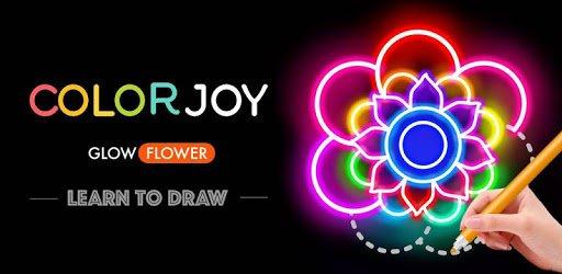 Learn To Draw Glow Flower pc screenshot
