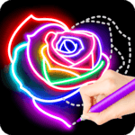 Learn To Draw Glow Flower icon