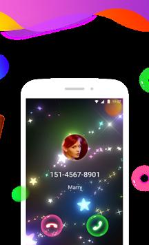 Color Phone Flash - Call Screen Theme, LED APK screenshot 1