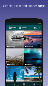 Hide Something - Photo, Video APK screenshot 1
