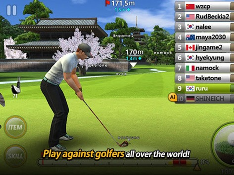 Golf Star™ APK screenshot 1