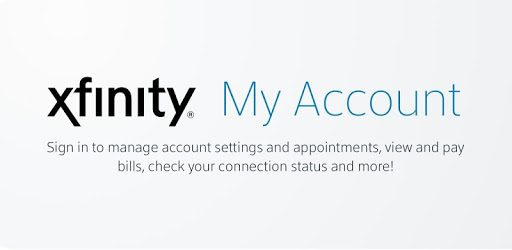 Xfinity My Account pc screenshot