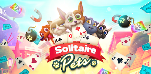 Solitaire Pets Arena - Online Free Card Game pc screenshot