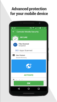 Comodo Mobile Security Antivirus APK screenshot 1