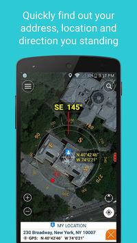 Compass Coordinate APK screenshot 1