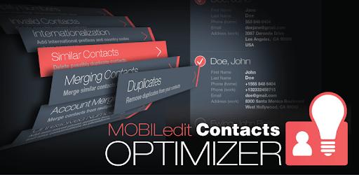 Contacts Optimizer pc screenshot
