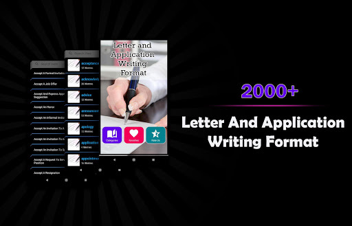 Letter Writing And Application Writing APK screenshot 1