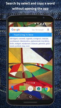 Pocket Thesaurus APK screenshot 1
