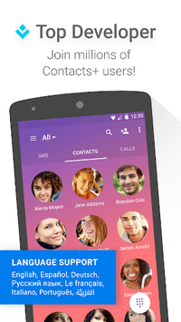 Contacts+ APK screenshot 1