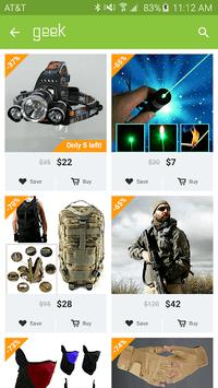 Geek - Smarter Shopping APK screenshot 1