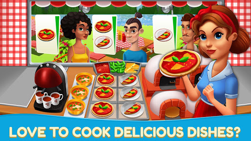 Fast Food Craze - Chef Restaurant Cooking Kitchen APK screenshot 1