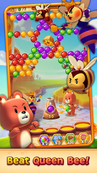 Buggle 2 - Free Color Match Bubble Shooter Game APK screenshot 1