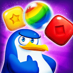 Pengle - Penguin Match 3 for pc icon