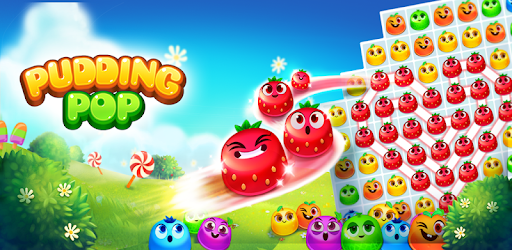 Pudding Pop - Connect & Splash Free Match 3 Game pc screenshot