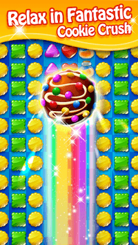 Cookie Mania - Sweet Match 3 Puzzle APK screenshot 1
