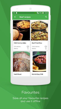 Meat Recipes APK screenshot 1