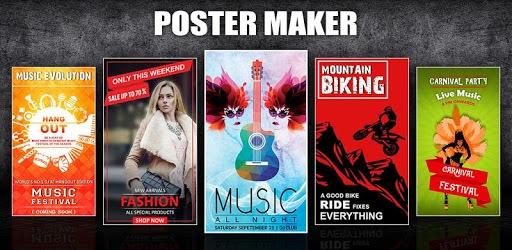 Poster Maker, Flyer Designer, Ads Page Designer pc screenshot