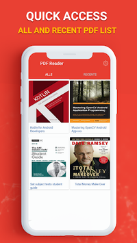 PDF Reader, Viewer 2018 APK screenshot 1