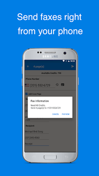 Easy Fax - Send Fax from Phone APK screenshot 1
