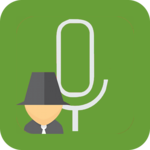 Secret voice recorder (SVR) icon
