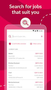 Coople Worker - part time & temp jobs APK screenshot 1