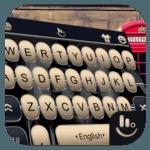 3D Metal Piano Keys Keyboard Theme icon