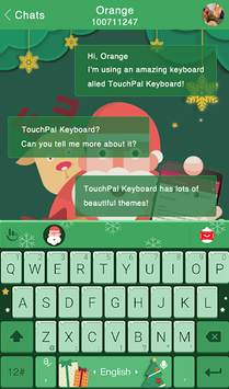 Christmas Gift Keyboard Theme APK screenshot 1