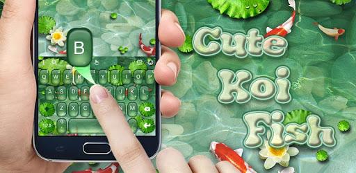 Cute Koi Fish Keyboard Theme pc screenshot