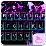 Sparkling Butterfly Keyboard FOR PC