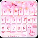 Sakura Snow Keyboard Theme FOR PC