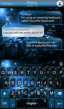 Space Pilot Keyboard Theme APK Download For Free