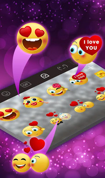 Sparkling Minny Bowknot Keyboard Theme APK screenshot 1
